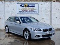 2015 BMW 5 SERIES 2.0 520D M SPORT TOURING 5d AUTO 190 BHP £18950.00