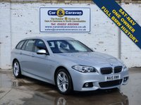 USED 2015 15 BMW 5 SERIES 2.0 520D M SPORT TOURING 5d AUTO 190 BHP One Owner Full BMW History NAV 0% Deposit Finance Available