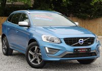 USED 2014 64 VOLVO XC60 2.0 D4 R-DESIGN LUX NAV 5d AUTO 178 BHP ***ELECTRIC SEATS*** ***FULL LEATHER*** ***SATELLITE NAVIGATION***