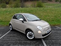 USED 2014 14 FIAT 500 1.2 COLOUR THERAPY 3d 69 BHP ONE OWNER, FULL SERVICE HISTORY