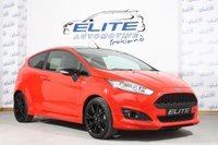 USED 2017 17 FORD FIESTA 1.0 ST-LINE RED EDITION 3d 139 BHP 140 BHP, FFSH, City Pack