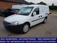 2009 VAUXHALL COMBO 2000 Direct From The Metropolitan Police With Air Con £3995.00
