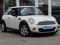 2013 MINI HATCH ONE 1.6 ONE 3d 98 BHP £6795.00