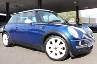 2004 MINI HATCH COOPER 1.6 COOPER 3d 114 BHP PANORAMIC ROOF £2000.00