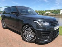 USED 2016 66 LAND ROVER RANGE ROVER 4.4 SDV8 AUTOBIOGRAPHY 5d AUTO 339 BHP **FULL BLACK PACK, HEAD UP DISPLAY**