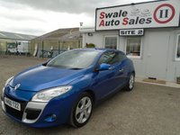 USED 2010 60 RENAULT MEGANE 2.0 DYNAMIQUE TCE 2d 180 BHP £28 PER WEEK OVER 5 YEARS - SEE FINANCE LINK