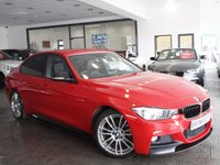USED 2012 62 BMW 3 SERIES  320D M SPORT 4d AUTO 181 BHP M PERFORMANCE+PRO NAV+LEATHER