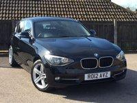 USED 2012 12 BMW 1 SERIES 2.0 118D SPORT 5d 141 BHP