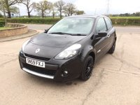 2009 RENAULT CLIO 1.1 TOMTOM EDITION 3d 74 BHP £3495.00
