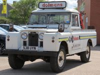 USED 1988 LAND ROVER SERIES 11 190 PICK-UP OWN A PIECE OF HISTORY, MANUFACTURED IN 1962