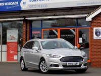 USED 2015 15 FORD MONDEO 2.0 TDCi TITANIUM ECONETIC 5dr ESTATE (150) ** Sat Nav + ONLY £30 Road Tax **