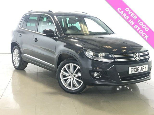 View our 2016 16 VOLKSWAGEN TIGUAN 2.0 MATCH EDITION NAV TDI BMT 5d 148 BHP