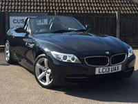 USED 2013 13 BMW Z4 2.0 Z4 SDRIVE20I ROADSTER 2d 181 BHP