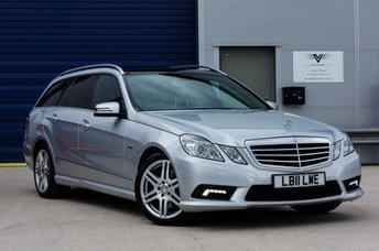 2011 MERCEDES-BENZ E CLASS 2.1 E250 CDI BLUEEFFICIENCY SPORT AUTO 7 SEATS £13495.00