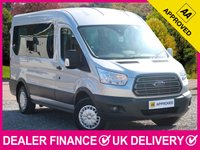 USED 2016 16 FORD TRANSIT 2.2 TDCI TREND 12 SEAT MINIBUS HIGH ROOF AIR CON  12 SEATS HIGH ROOF AIR CONDITIONING BLUETOOTH