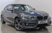 2016 BMW 2 SERIES 2.0 220I SPORT 2d 181 BHP £16490.00