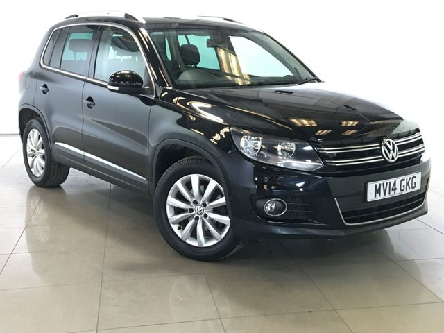 View our 2014 14 VOLKSWAGEN TIGUAN 2.0 MATCH TDI BLUEMOTION TECHNOLOGY 5d 139 BHP