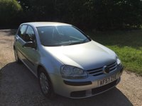 USED 2007 57 VOLKSWAGEN GOLF 1.4 S 5d 79 BHP Alloy Wheels, Low Mileage, A/C