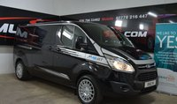 2015 FORD TRANSIT CUSTOM 2.2 290 LIMITED LR Crew Cab Double Cab 125ps £15995.00