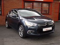USED 2013 13 CITROEN DS4 1.6 HDI DSTYLE 5d FSH - 1OWNER+CO - MASSAGE SEAT