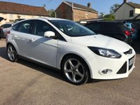 2013 FORD FOCUS 1.6 TITANIUM TDCI 5d WITH ONLY 34,000 MILES AND SERVICE HISTORY  £8000.00