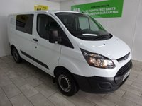 USED 2014 64 FORD TRANSIT CUSTOM 2.2 270 LR P/V 1d 124 BHP