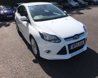 USED 2014 14 FORD FOCUS 1.6 ZETEC S ECOBOOST 180 BHP THIS VEHICLE IS AT SITE 2 - TO VIEW CALL US ON 01903 323333
