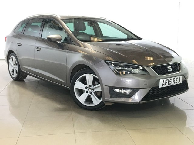 View our 2015 15 SEAT LEON 2.0 TDI FR TECHNOLOGY NAV 5d 150 BHP