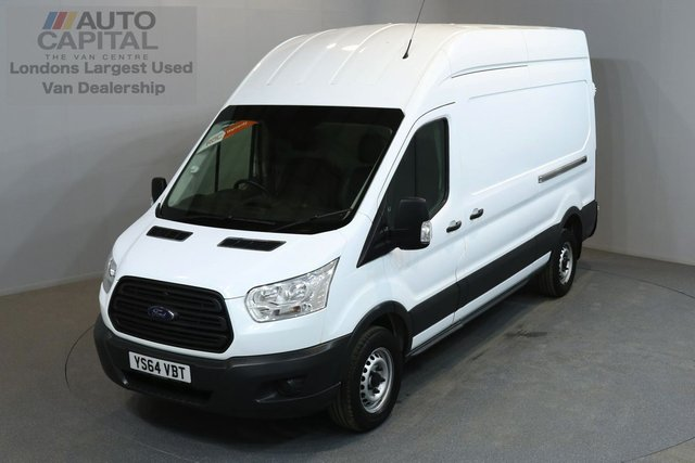 2015 64 FORD TRANSIT 2.2 350 124 BHP L3 H3 LWB HIGH ROOF ONE OWNER FROM NEW, FULL SERVICE HISTORY
