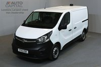 USED 2015 15 VAUXHALL VIVARO 1.6 2700 114 BHP L1 H1 SWB LOW ROOF ONE OWNER FROM NEW, FULL SERVICE HISTORY
