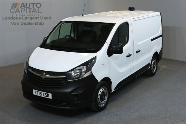 2015 15 VAUXHALL VIVARO 1.6 2700 114 BHP L1 H1 SWB LOW ROOF ONE OWNER FROM NEW, FULL SERVICE HISTORY