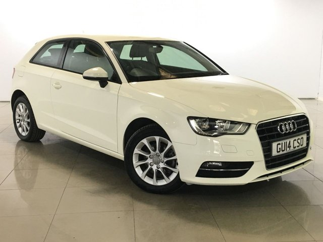 View our 2014 14 AUDI A3 1.6 TDI SE 3d 104 BHP