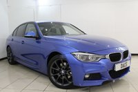 USED 2016 16 BMW 3 SERIES 2.0 330E M SPORT 4DR AUTOMATIC 181 BHP BMW SERVICE HISTORY + HEATED LEATHER SEATS + SAT NAVIGATION PROFESSIONAL + PARKING SENSOR + BLUETOOTH + CRUISE CONTROL + MULTI FUNCTION WHEEL + CLIMATE CONTROL + 18 INCH ALLOY WHEELS