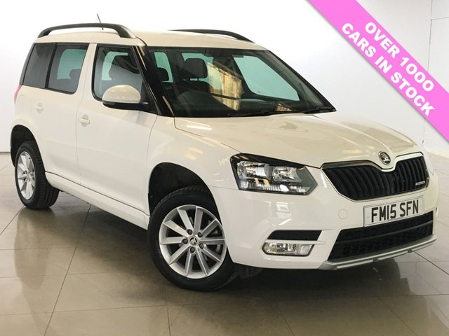 View our 2015 15 SKODA YETI 1.6 SE GREENLINE II TDI CR 5d 103 BHP