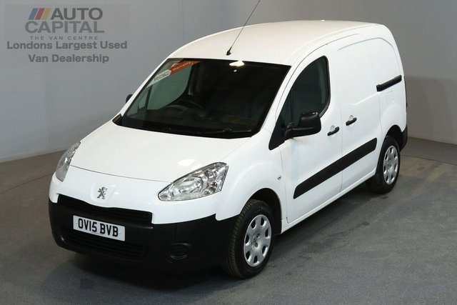 2015 15 PEUGEOT PARTNER 1.6 HDI PROFESSIONAL 850 89 BHP SWB A/C ONE OWNER FROM NEW, SERVICE HISTORY