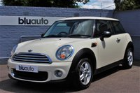 USED 2012 62 MINI HATCH ONE 1.6 3d  Superb Condition, Full Service History, USB & Aux Ports, Bluetooth, Mood Lighting.......
