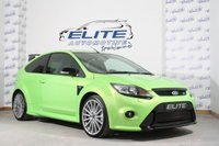 USED 2009 09 FORD FOCUS 2.5 RS 3d 300 BHP LUX1/2, Dynamica Seats, FFSH, Unmodified, Immaculate!!!!