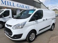 USED 2015 65 FORD TRANSIT CUSTOM 2.2 290 TREND 100 BHP 6 SPEED