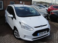 USED 2015 15 FORD B-MAX 1.6 ZETEC 5d AUTO 104 BHP ANY PART EXCHANGE WELCOME, COUNTRY WIDE DELIVERY ARRANGED, HUGE SPEC