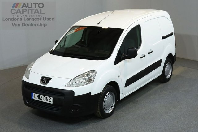 2012 12 PEUGEOT PARTNER 1.6 HDI 850 89 BHP SWB LOW ROOF ONE OWNER FROM NEW, SERVICE HISTORY