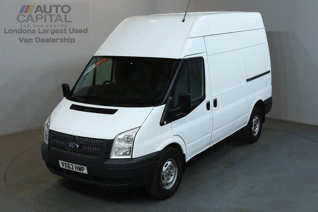2013 63 FORD TRANSIT 2.2 350 124 BHP L2 H3 MWB HIGH ROOF AWD ONE OWNER FROM NEW