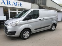 2017 FORD TRANSIT CUSTOM 2.0 290 TREND 105  BHP 6 SPEED  £14995.00