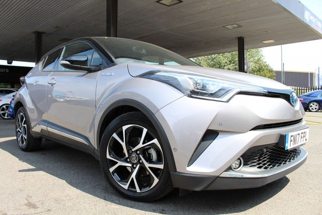 TOYOTA CHR at Derby Trade Cars