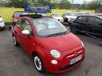 USED 2014 63 FIAT 500 1.2 C COLOUR THERAPY 3d 69 BHP SUMMER'S COMING !!