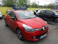USED 2015 65 RENAULT CLIO 0.9 DYNAMIQUE S NAV TCE 5d 89 BHP LOOKS ABSOLUTELY STUNNING IN METALLIC RED !!