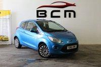 2012 FORD KA 1.2 ZETEC 3d 69 BHP £4485.00
