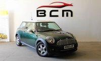 2011 MINI HATCH COOPER 1.6 COOPER 3d AUTO 122 BHP £7485.00