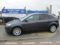 USED 2008 58 FORD FOCUS 1.6 ZETEC 5d 100 BHP 6 Stamps Of Service History . 1 Former Keeper. New MOT & Full Service Done on purchase + 2 Years FREE Mot & Service Included After . 3 Months Russell Ham Quality Warranty . All Car's Are HPI Clear . Finance Arranged - Credit Card's Accepted . for more cars www.russellham.co.uk  - Spare key . Owners Book Pack.