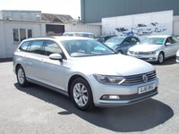 2016 VOLKSWAGEN PASSAT 2.0 S TDI BLUEMOTION TECHNOLOGY 5d 148 BHP £12750.00