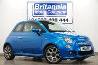 2014 FIAT 500 1.2 S 3 DOOR £6990.00